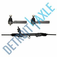 Power Steering Rack and Pinion Assembly + 2 New Outer Tie Rod Ends for Mustang