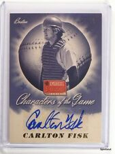 2013 Panini America's Pastime Characters Carlton Fisk autograph auto #D09/10 *43