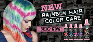 Crazy Color Shampoo Conditioner für Pflege Haarfärbemittel 250ml Neu