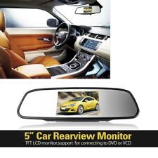 5inch Digital TFT LCD Car Rearview Mirror Reverse Monitor For Reversing Camera