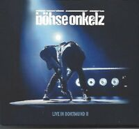 BÖHSE ONKELZ / LIVE IN DORTMUND II - 2CD DIGIPACK 2017 * NEU *