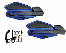 Powermadd Star Series Handguards Guards Blue / Black Snowmobile Ski Doo Summit