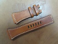 Bell & Ross BR-02 Santoni style leather strap Made In Taiwan Cheergiant straps
