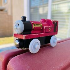 Thomas the Tank Engine & Friends Rheneas Wooden Red Train with White Wheels