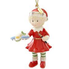 Lenox Edwina The Elf Christmas Holiday Ornament Nib