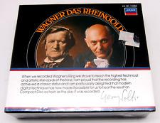 Ring, Das Rheingold, Wagner Opera Solti, London 3-CD Set New, Sealed