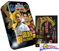2020/21 Topps Match Attax Champions League GOLDEN GOAL SCORERS Tin-Neymar LE