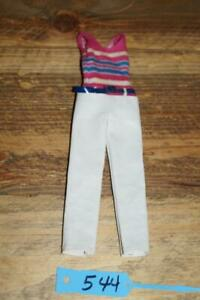 Vintage Twiggy Gear #1728 Pantsuit and blue belt