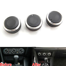 Car A/C Air Condition Control Knob Decoration Ring Cover Trim For Mazda 3 06-13