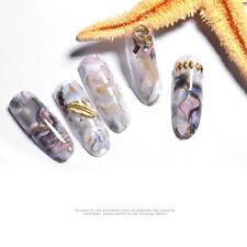 2pcs Women Marble Pattern Nail Stickers Art Decals Water Transfer Sticker Decor