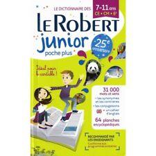 Dictionnaire Le Robert Junior Poche - 7/11 ans - CE-CM-6e - Chez vous en 24H00