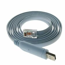 Cisco Console Cable FTDI USB RJ45 Windows 8, 7, Mac, Linux RS232 1.8m FreeShip