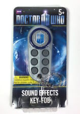 Doctor Who Sound Effects Key Fob Keychain Sonic Screwdriver Daleks Cyberman K-9