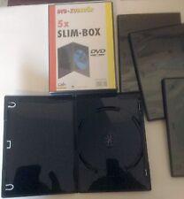 DVD/CD Hüllen Slim-Box 80 Stück