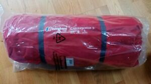 NEW Berghaus Tent Cairngorm 3 Person Red Lightweight geo dome