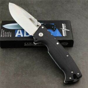 Cold Steel knife AD10 Outdoor camping Survival Folding Knife S35VN Blade Gift