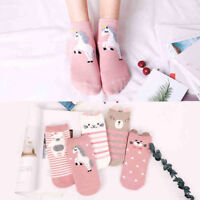 Unisex Women Cute Cartoon Animal Kawaii Cat Warm Soft Casual Short Ankle Socks