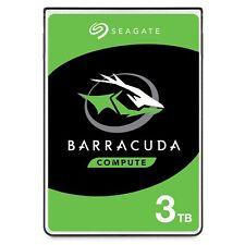 "Seagate BarraCuda 3TB SATA III 2.5"" Hard Drive - 5400RPM, 128MB Cache"