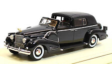 TSMCE154302 1938 Cadillac Series 90 V16 Town Car Black 1:43 Scale