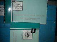 1991 GMC Safari Van Repair Service Shop Manual Set OEM W WIRING DIAGRAMS MANUAL