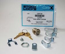 COMPX NATIONAL C8730, Pin Tumbler Mailbox Lock w/ 5 Cams