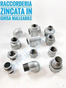 Raccordi idraulici zincati ghisa malleabile raccordo acqua per tubo aria gas
