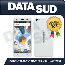 SMARTPHONE MEDIACOM PHONEPAD DUO S5 BIANCO/WHITE - LTE - ANDROID 7.0 - M-PPBS5