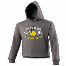 BEST TRACTOR DRIVER IN THE SOLAR SYSTEM HOODIE hoody top farm birthday gift 123t