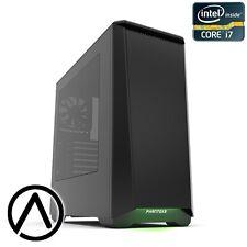 Intel i7-8700K Liquid cooled GeForce GTX 1060 16GB RAM Gaming Computer PC RGB