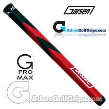 Garsen Golf 15 Inch G-Pro Max Jumbo Putter Grip - Black / Red + Grip Tape