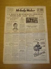 MELODY MAKER 1936 MAY 16 EDDIE CARROLL AMBROSE JACK COOPER BIG BAND SWING