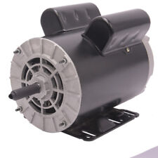 "5HP SPL1Phase 3450RPM Electric Air Compressor Duty Motor 56 Frame 5/8""Shaft 60Hz"