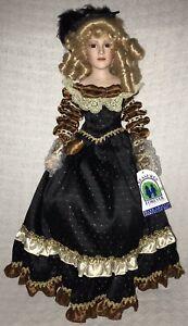 Vintage 1995 William Tung Agatha Romantic Victorian Porcelain Doll LE #627/1500