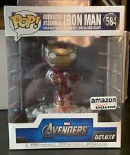 Funko Pop! Avengers Assemble Iron Man #584 Deluxe Amazon Exclusive