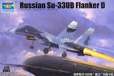 Trumpeter 1/72 Russian Su-33UB Flanker D  #01669 #1669