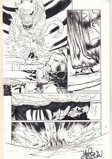Drax #10 p.12 - Drax Action vs. Fing Fang Foom - 2016 art by Scott Hepburn