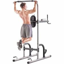 Power Tower Pullup Bar Pushup Gold's Gym Exercise Equipment Fitness Station Gear