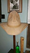 Vintage Stetson Tom Mix/ Gus style cowboy hat SASS  movie