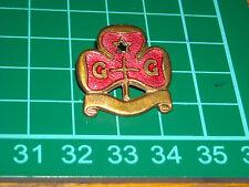girl scout  boy scout vecchio stemma pin spilla distintivo girl guides punzonato