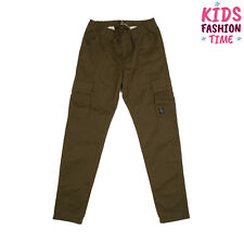Timberland Cargo Style Trousers Size 16Y Elasticated Waist