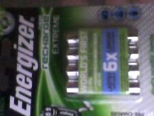 4 pack Energizer  EXTREME AAA 800mAh Rechargeable Batteries=new/free post