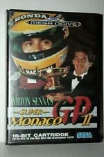 AYRTON SENNA'S SUPER MONACO GP 2 USATO BUONO MEGADRIVE ED ITALIANA FR1 41994