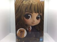Banpresto Q Posket Hermione Granger With Crookshanks Harry Potter Series NIB