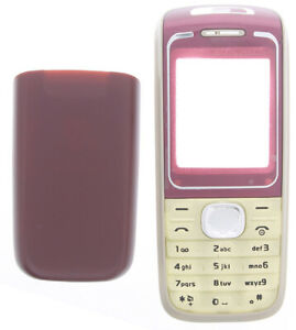 For Nokia 1650 Replacement Housing /Fascia /Case /Cover - Red-Cream