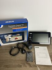 "RCA Portable Digital TV 7"" Widescreen TV RTV860073, With All Accessories, Works!"