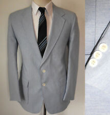 40R Mens MOD Light Blue Levi's Boating Nautical Blazer Heathered Slim fit Jacket
