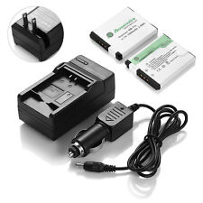 2x NB-11L NB11LH Battery +Charger for Canon PowerShot A2300 A2400 A2500 A4000 IS