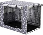 Dog Crate Cover Durable Polyester Pet Kennel Cover Universal Fit for Wire Dog Cr