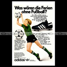 #phpb.001960 Photo ADIDAS HANSI MÜLLER SNEAKERS 1980 Advert Reprint