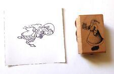 Tampon encre Aladine bois - Invitation